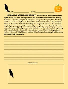 CREATIVE WRITING PROMPT: HALLOWEEN GRADES 5-9
