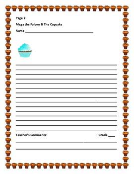 CREATIVE WRITING PROMPT: MEGA THE FALCON & THE CUPCAKE