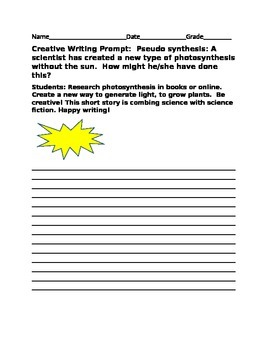 CREATIVE WRITING PROMPT: PSEUDO SYNTHESIS