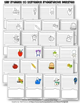 CREATIVE WRITING PROMPTS (SETS 1 & 2) BUNDLE