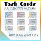 CREATIVE WRITING TASK CARDS for STEAM BINS (Growing Bundle