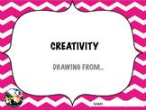 CREATIVITY DRAWING BOOK 1