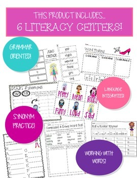 CREEPER-IFIC Monster Girl Literacy Centers
