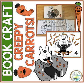 CREEPY CARROTS!  BOOK CRAFT