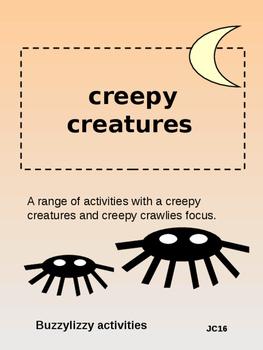 CREEPY CREATURE ACTIVITIES