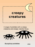 CREEPY CREATURE ACTIVITIES