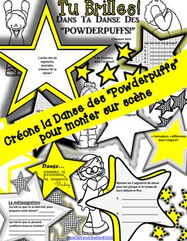 CRÉONS LA DANSE DES POWDERPUFFS - 7me/8me Année