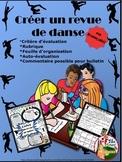 CREÉR UN REVUE DE DANSE - DANCE SMASH IN FRENCH