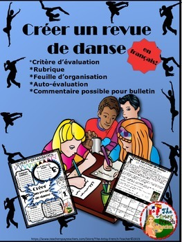 CREÉR UN REVUE DE DANSE - DANCE SMASH IN FRENCH