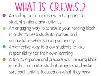 CREWS Reading Rotations