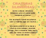 CRIATURAS SILENCIOSAS O QUIET CRITTERS