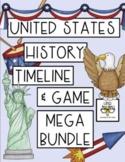 CRITICAL RACE HISTORY: U.S. History Mega Bundle (Timeline