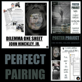 CRITICAL THINKING DILEMMA ONE SHEET AND POSTER PROJECT (FAMOUS TRIALS) BUNDLE