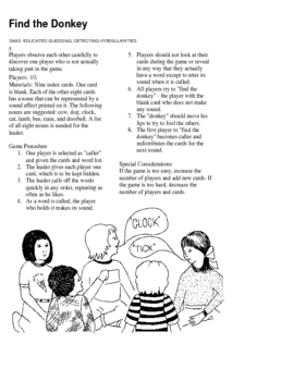 CRITICAL THINKING GAMES 1