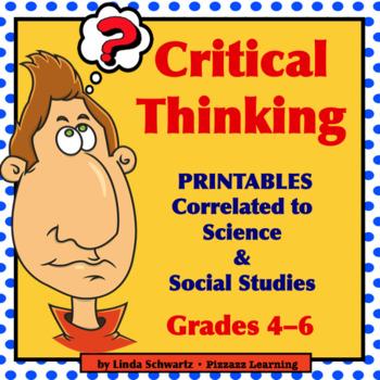 CRITICAL THINKING Printables Grade 5