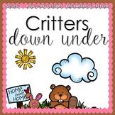 CRITTERS UNDER GROUND (5-day Unit) Preschool Pre-K Kindergarten Curriculum