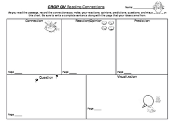 CROP QV Reading Graphic Organizer