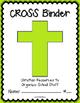 CROSS Binder {Student Organization Folder}