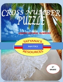 CROSS NUMBER PUZZLE - Adding Decimal Numbers