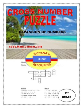 CROSS NUMBER PUZZLE - Expansion of Numbers
