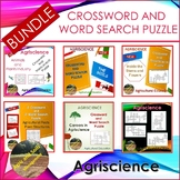 CROSSWORDS AND WORDS SEARCH PUZZLE - BUNDLE - AGRISCIENCE
