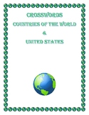 CROSSWORDS: GEOGRAPHY & HISTORY- WORLD COUNTRIES & UNITED STATES