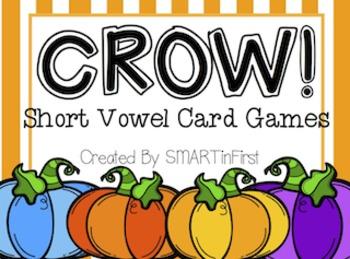 CROW! Short Vowel Card Games