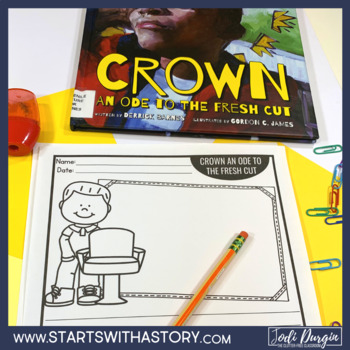 CROWN AN ODE TO THE FRESH CUT read aloud lessons