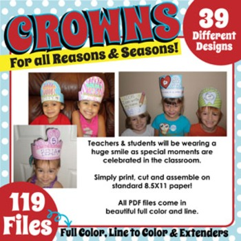 CROWNS for ALL REASONS and SEASONS