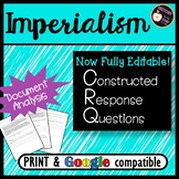 CRQ- Effects of Imperialism- Short Answer Practice- New Global Regents