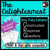 CRQ- The Enlightenment- Source Analysis based on new NYS G