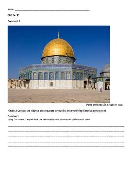 CRQ - set of 3 religion (Judaism, Christianity, Islam, Buddhism)