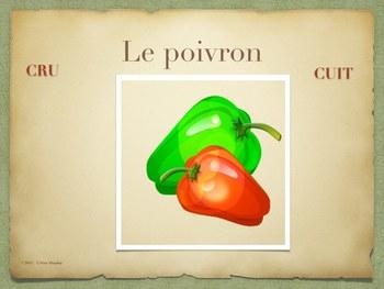 CRU ou CRUIT ? les aliments Présentation Power-Point / TBI