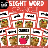 First and Second Grade Sight Word Game CRUNCH!