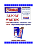 C.R.U.N.C.H.  Report Writing Assignments & Worksheets CCSS.ELA-Literacy.W.5.2