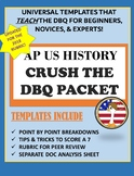 AP US HISTORY CRUSH THE DBQ: Template & Analysis Sheet