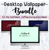 CS Coffee & Confidence Desktop Wallpaper Bundle