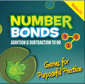 Number Bonds: Addition and Subtraction to 99 (Mac Version) [Single User License]