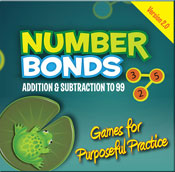 Number Bonds: Addition and Subtraction to 99 (PC Version) [Single User License]