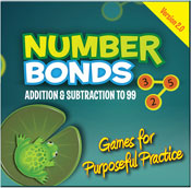 Number Bonds: Addition and Subtraction to 99 (PC Version) [Site License]