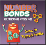 Number Bonds: Multiplication and Division to 99 (Mac Version) [Single User License]