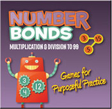 Number Bonds: Multiplication and Division to 99 (PC Version) [Site License]