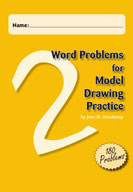 Word Problems for Model Drawing Practice Level 2 [Single U