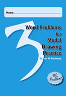 Word Problems for Model Drawing Practice Level 3 [Single User License]