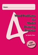 Word Problems for Model Drawing Practice Level 4 [Single User License]