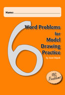 Word Problems for Model Drawing Practice Level 6 [Single User License]