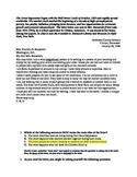 CSCOPE Unit 5A ELAR test review teacher edition