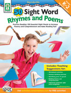 50 Sight Word Rhymes and Poems
