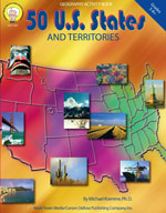 50 U.S States and Territories by Mark Twain Media