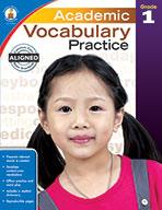 Academic Vocabulary Practice, Grade 1 (eBook)